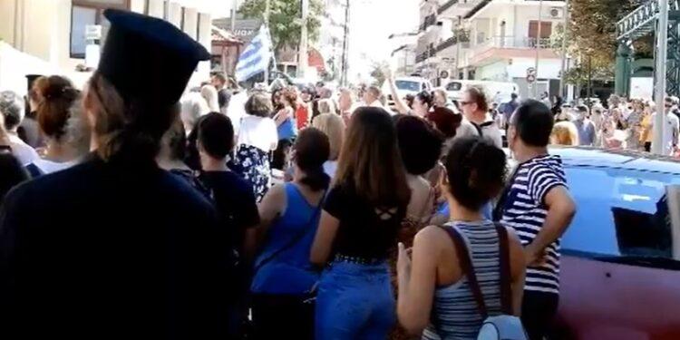 Κιλκίς: Γονείς και μαθητές βγήκαν στους δρόμους κατά της μάσκας (Video)